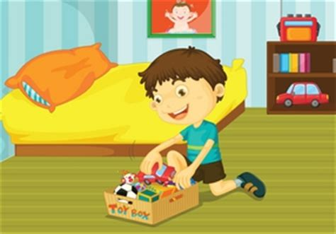 how to your to put his toys away giving responsibility what age