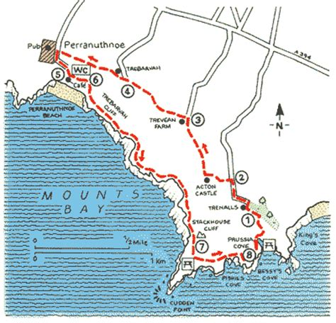cornish walks walking in the mevagissey area books the smuggler king of prussia cove walks the aa