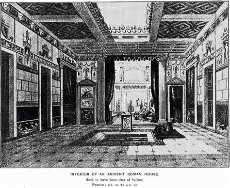 roman atrium house plan first corinthians 11 17 23