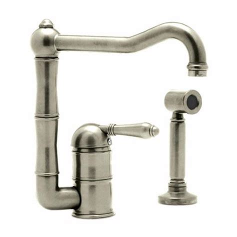 rohl kitchen faucet rohl a3608ws kitchen faucet from home