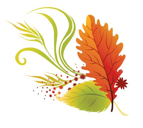 clipart autumn leaves transparent fall leaves clipart picture fall gifs