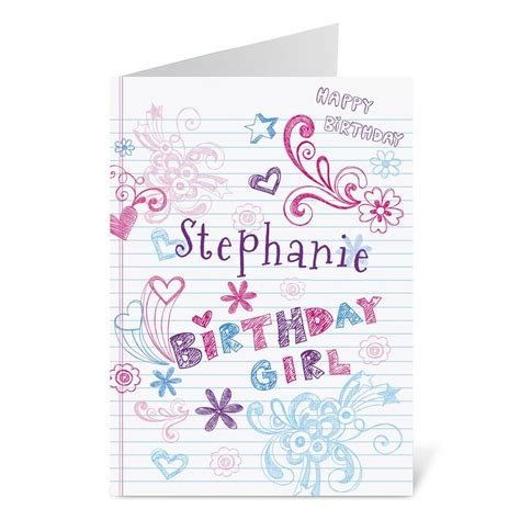 doodle cards doodle birthday create a card current catalog