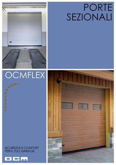 sezionali per garage portoni sezionali porte per garage www ocmflex