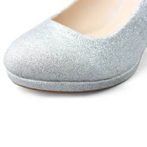 comfortable silver heels dress online womens glitter silver heels platform pumps