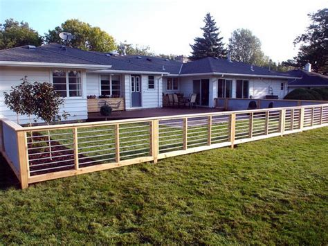 modern backyard fence gardening landscaping install a modern style fence how