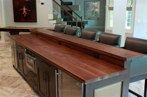ikea bar top ikea wood countertops bar design basement ideas pinterest