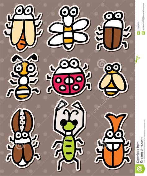 free doodle bug doodle bug stickers royalty free stock photo image 27395495