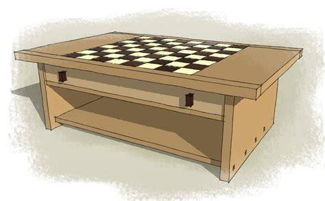 Chessboard Coffee Table Stephen Finch Furniture Maker Coffee Table Chess Board