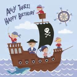 Pirate Birthday Card Pirate Fun Birthday Card Dotcomgiftshop Cards
