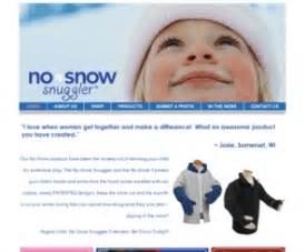 Product Buzz No Snow Snuggler nosnowsnuggler no snow snuggler it s more than just