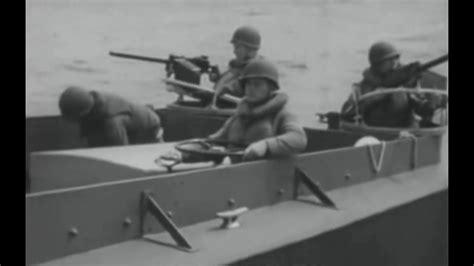 higgins boat video lcvp higgins boat 1944 u s navy landing craft training