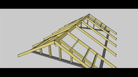 Gable Frame Gable Roof Procedure