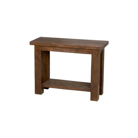Tables And Seating Barnwood Sofa Table W Shelf Bw53 Bookshelf Sofa Table