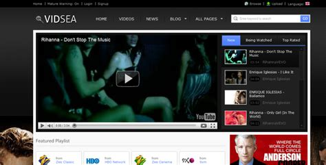Video Streaming By Chimpstudio Themeforest Web Tv Template