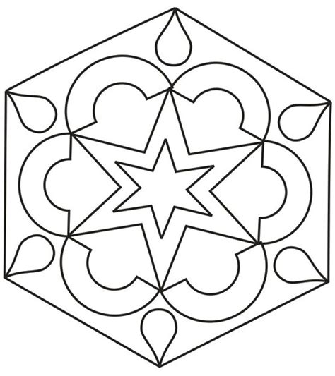 rangoli designs coloring printable pages for kids