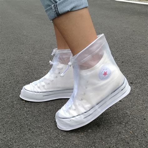 Shoes Protector thickening reusable waterproof overshoes shoe covers shoe protector anti slip boot