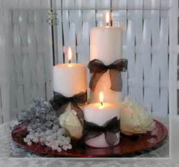 My beautiful wedding table centerpieces