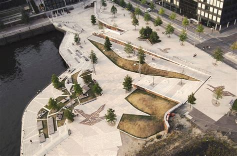 park design management hamburg hafencity public space by miralles tagliabue parks
