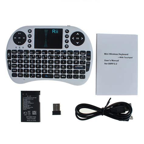 Rii I8 2 4g Mini Wireless Keyboard rii i8 2 4g wireless keyboard with touchpad for pc tv box
