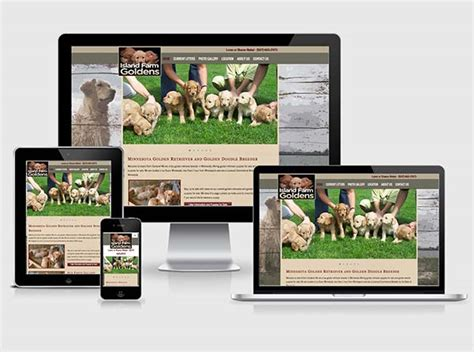breeders websites breeders website design