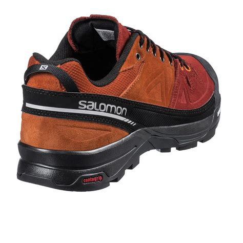 running shoes leather salomon mens x alp leather trail running shoes ss17 40