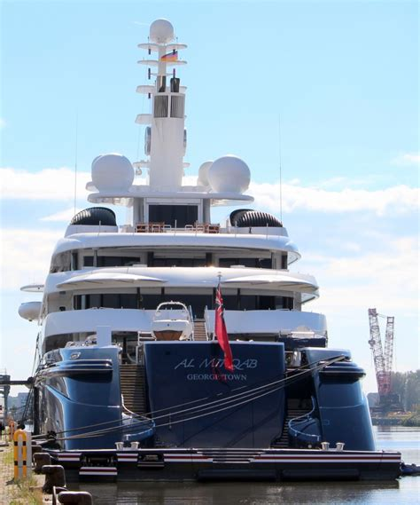 Die Yacht by Die Yacht Al Mirqab Am 27 09 2013 In Bremerhaven Sie Ist