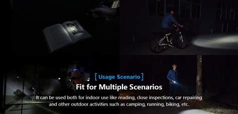 Sale Xtar Pacer Wk18 Senter Led Cree Xm L2 U3 1000 Lumens edc flashlight cing light running light cing l bicycle light walking light pacer wk18