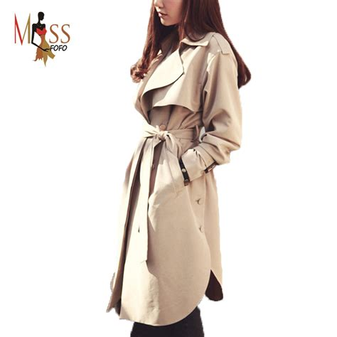 new spring style for wonen 2015 new spring fashion casual women s trench coat long