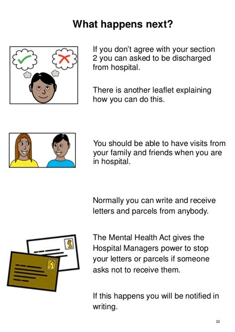 section 8a mental health act mha section 3 leaflet 2