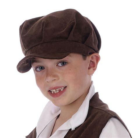 Boy Hat childs oliver pauper hat urchin boy brown