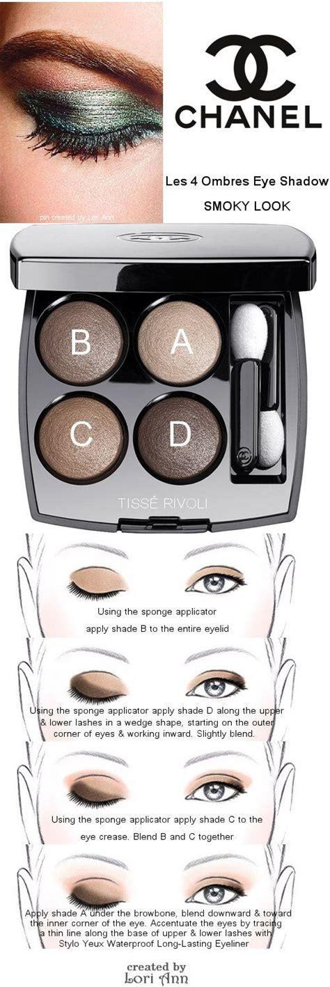 eyeshadow tutorial chanel chanel les 4 ombres eye shadow smoky look tutorial