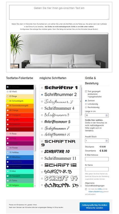 Aufkleber Selber Gestalten Bestellen by Wandtattoos Und Wandsticker Shop Wandtattoo Aufkleber