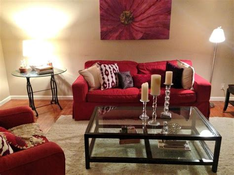 living room with red couch red sofas in living room vibrant red sofas hgtv thesofa