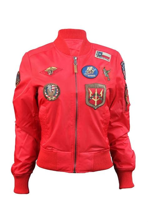 Thin Jacket Import 9483 Redgreen Jacket top gun bomber jacket from montreal by boutique tag shoptiques
