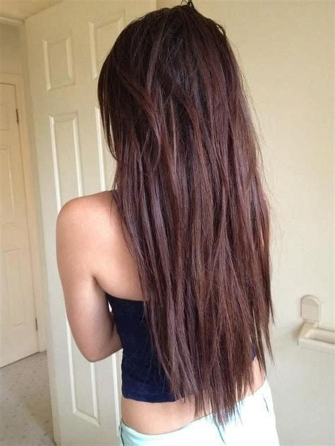 long textured layers long hair choppy textured long hair find more on http