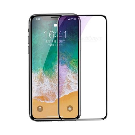 Baseus 3d Tempered Glass Front Back Iphone X Ten baseus tempered glass screen protector 4d surface coverage glass for iphone x front