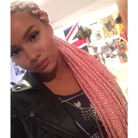 pink box braids google search that hair thoughh shirin david this time with pink braids braids