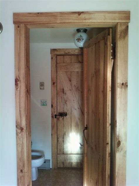 Rustic Interior Door Rustic Doors And Trim For Cabin Beautiful Home