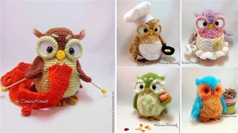new idea crochet owl crochet patterns by tamara nowack our daily ideas