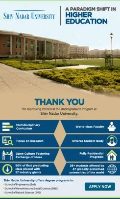 Shiv Nadar Mba Placements by Emailers E Squared