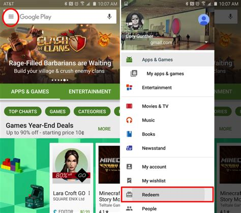 Play Store Redeem How To Redeem Play Store Promo Code Gift Card