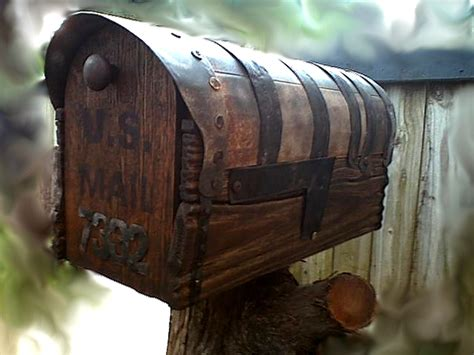 country style mailboxes country style rustic mailbox with metal forging
