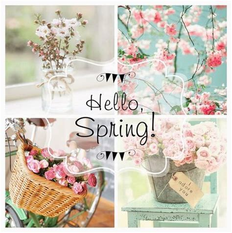 spring themes quotes hello spring collage spring spring quotes hello spring