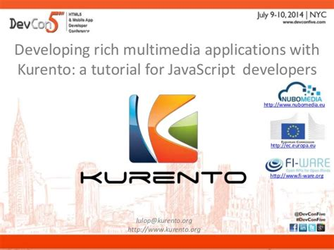 javascript tutorial for net developers developing rich multimedia applications with kurento a