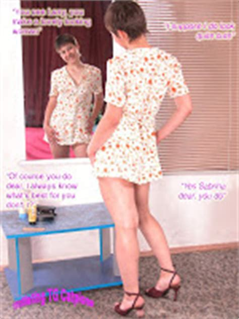 she feminized her husband titillating tg captions april 2011