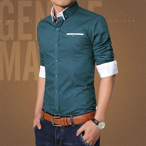 2015 new brand dress shirts 2015 new brand mens dress shirts sleeve casual shirt slim fit brand design formal shirt