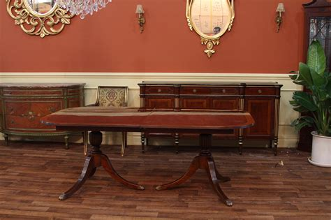duncan phyfe double pedestal mahogany dining table high duncan phyfe double pedestal mahogany dining table high