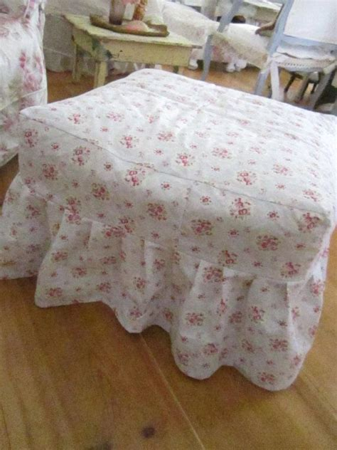 shabby chic ottoman top 28 shabby chic ottomans shabby chic vintage cottage ottoman prairie cottage pin by