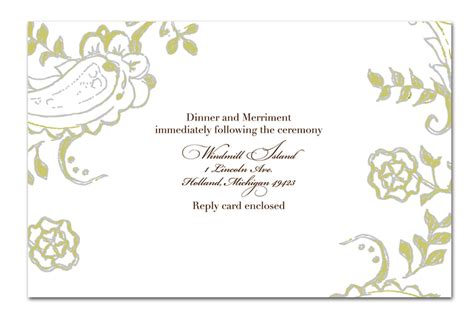 free wedding invitation templates indesign marriage