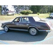 Find Used 1987 Lincoln Continental Clean Cherry California